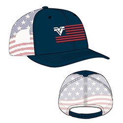 4TH OF JULY SUBLIMATED CAP