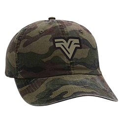 AHEAD CAMO HAT WITH PATCH