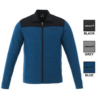 ELEVATE PERREN MEN'S KNIT JACKET