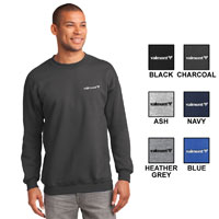 ESSENTIAL FLEECE CREW NECK SWEATER