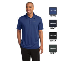 MENS SPORT-TEK ACTIVE TEXTURED POLO SHIRT