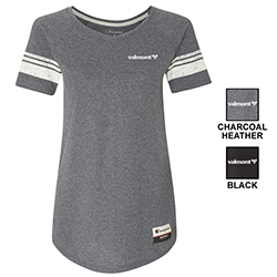 CHAMPION WOMEN'S ORIGINAL TRI-BLEND VARSITY TEE