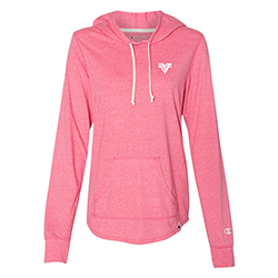LADIES CHAMPION TRIBLEND HOODED PULLOVER