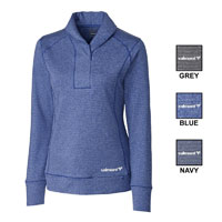 CB LADIES SHORELINE 1/4 ZIP