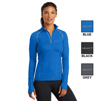 LADIES OGIO 1/4 ZIP PULLOVER