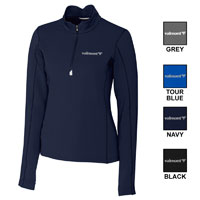 LADIES' CB TRAVERSE HALF ZIP