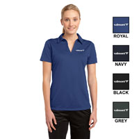 LADIES SPORT-TEK ACTIVE TEXTURED POLO SHIRT