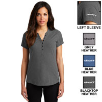 LADIES' OGIO TREAD HENLEY